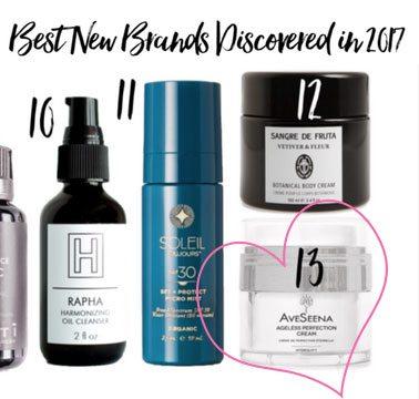 Best new natural skin care brand aveseena