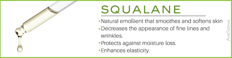 aveseena squalane plant olive skin care