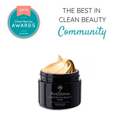 honey mask clean beauty awards