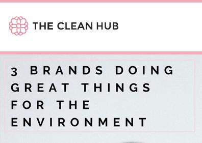 the clean hub clean beauty skin care skincare cosmetics