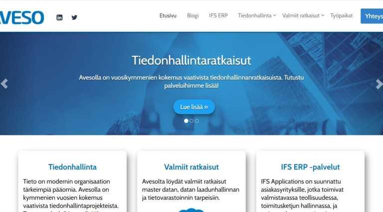 Aveso uudistaa verkkosivuja!