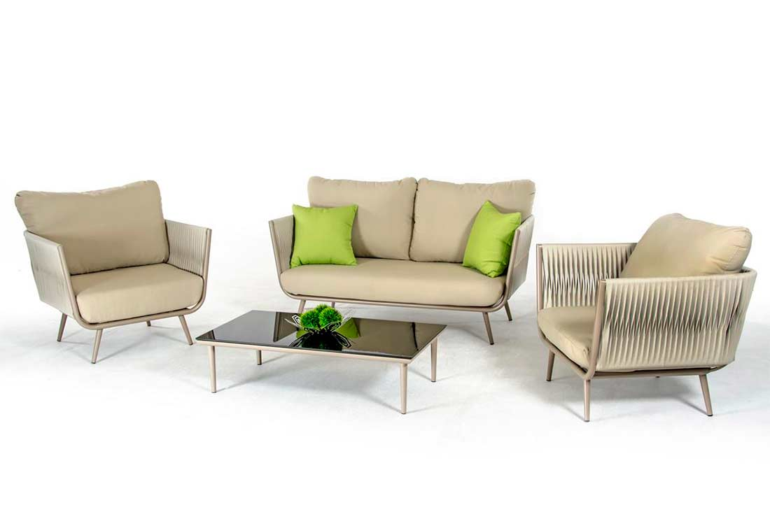 Outdoor sofa set VG499 | Outdoor Furniture Sets on Outdoor Loveseat Sets  id=25526