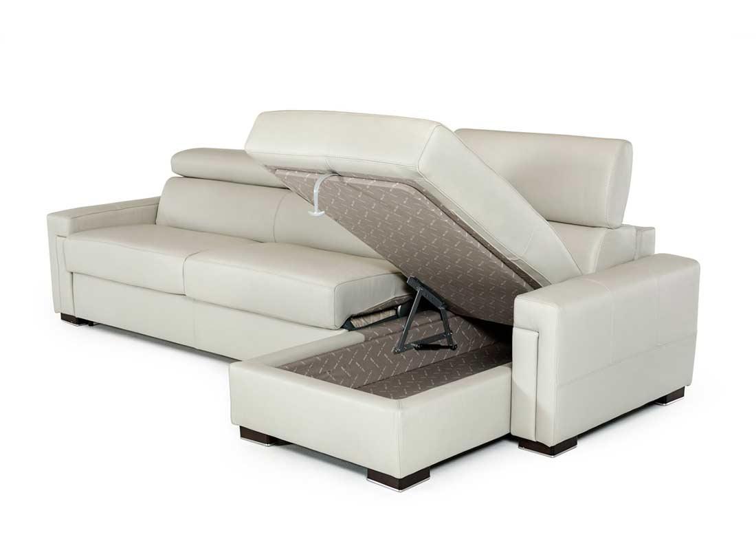 Leather Sectional Sleeper Sofa