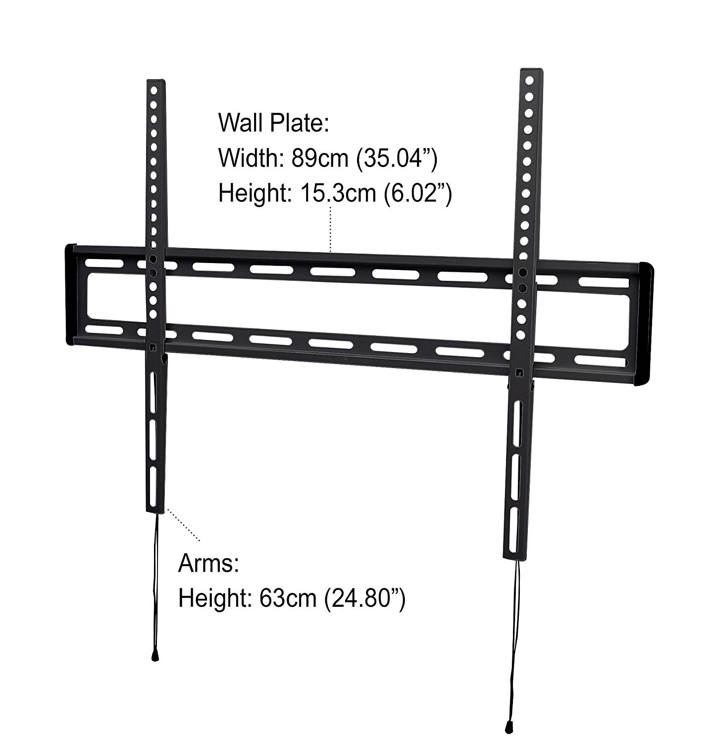 Iq Low Profile Flat Wall Mount For 47 To 84 Flat Panel