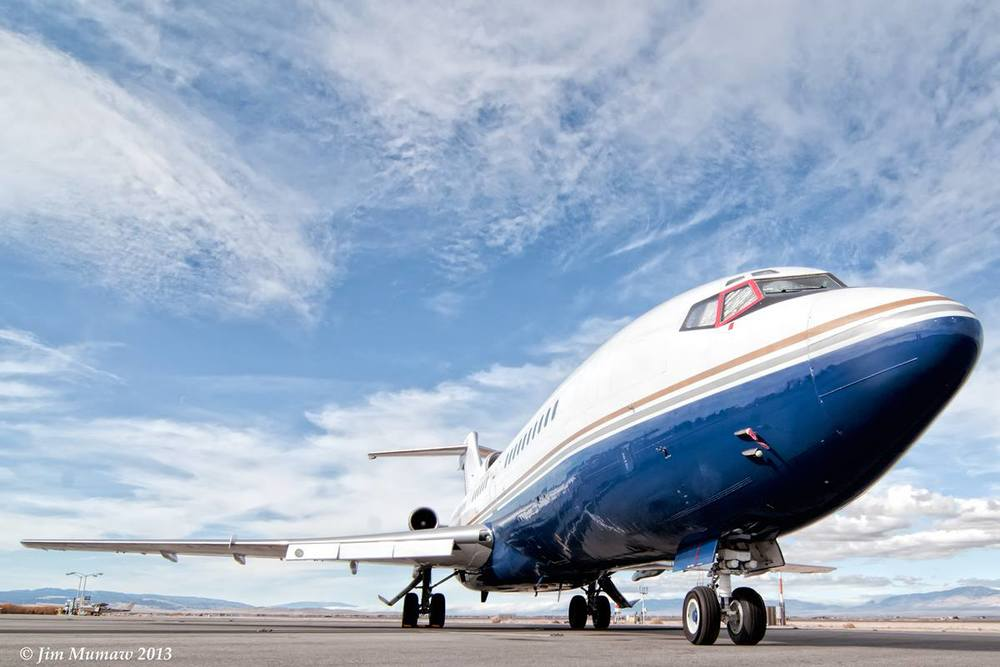 Boeing 727 (Photo by Jim Mumaw)