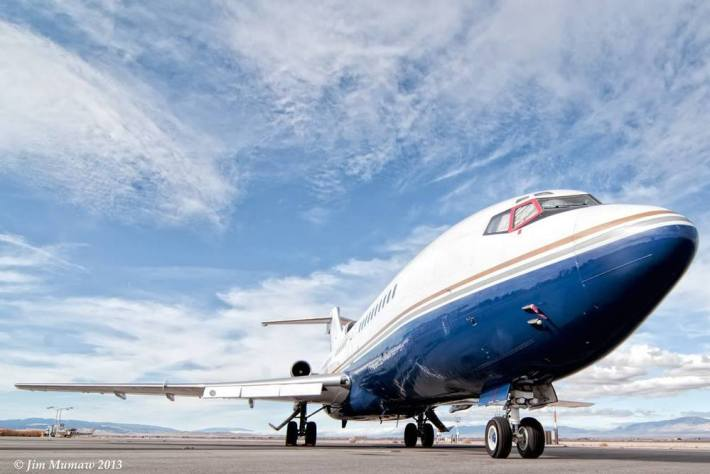 Boeing 727 (Photo by Jim Mumaw)