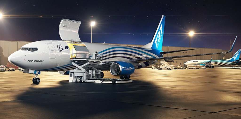 Boeing will introduce the 737-800 BCF freighter by the end of 2017. Source: Boeing