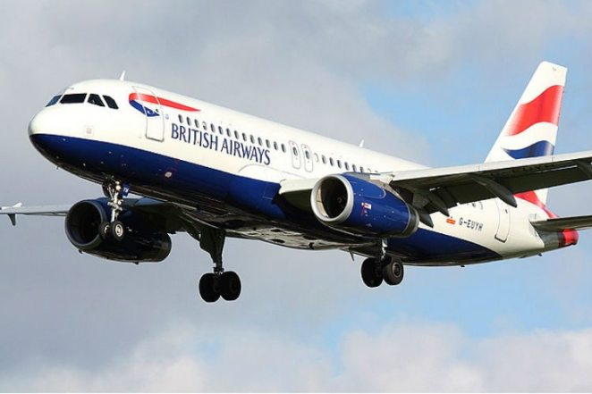 British Airways Airbus A320. Credit: British Airways.