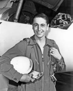 Scott Crossfield as a young pilot.