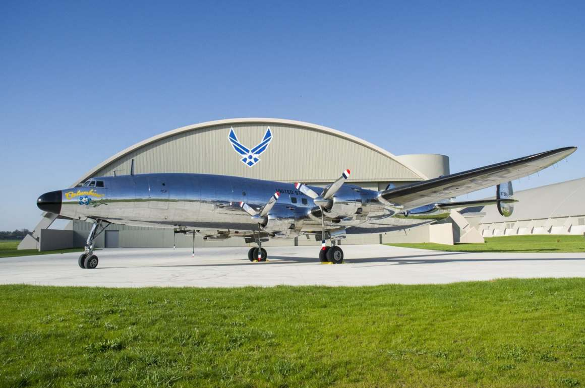 President Eisenhower's Columbine III Lockheed Constellation (NMUSAF Photo)