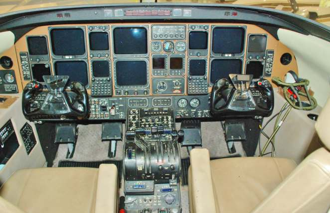"""The Starship, in keeping with its futuristic image featured an """"all glass"""" panel."""