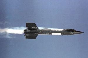 X-15_in_flight
