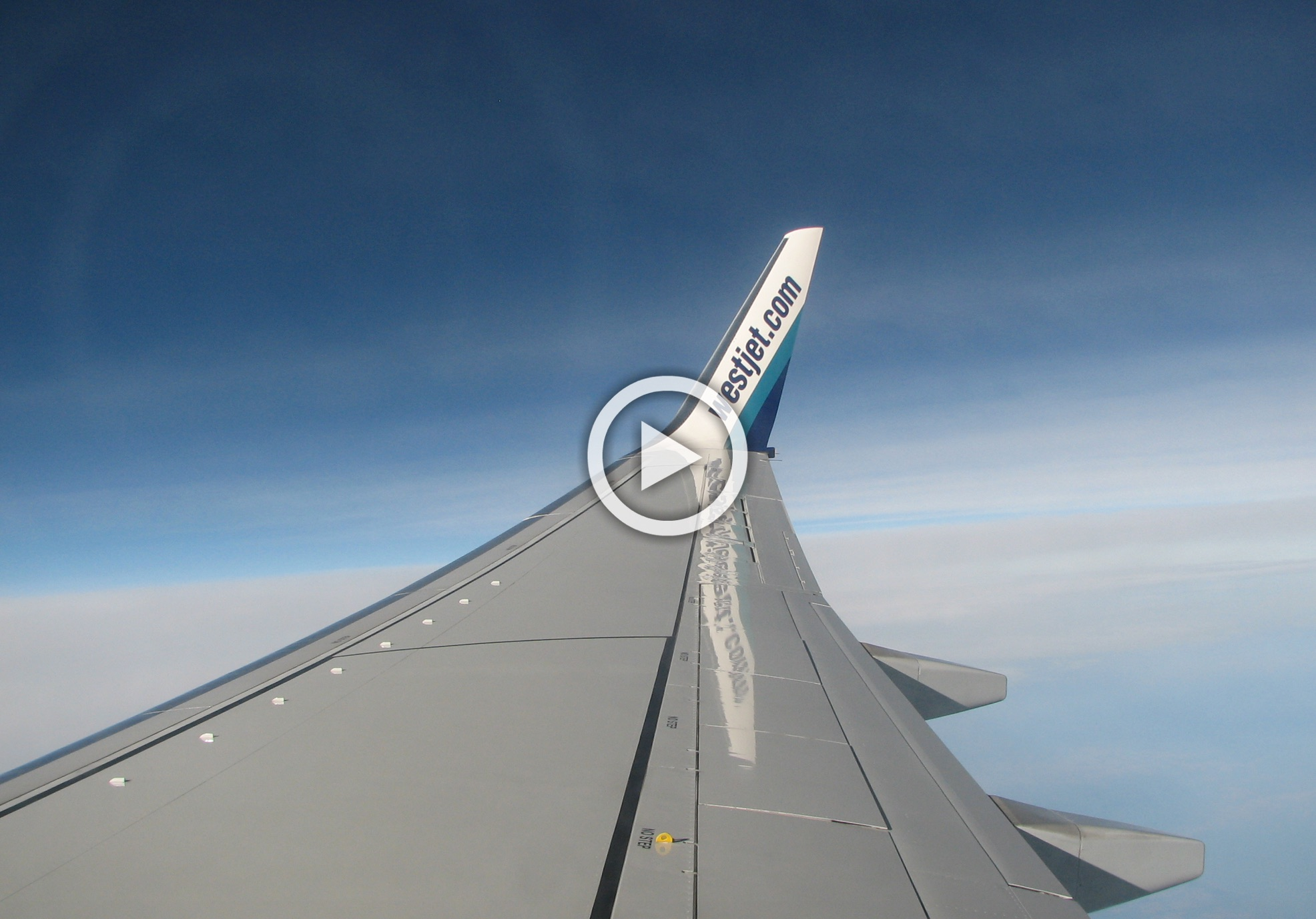 WestJet Takes Delivery Of First 737 MAX 8, Follows Plane From ...