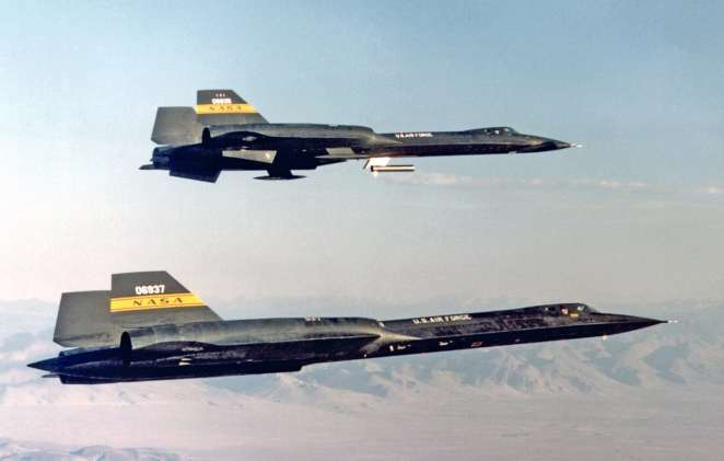 One and Done -- Col Yielding Flew a SR-71 Across the US in