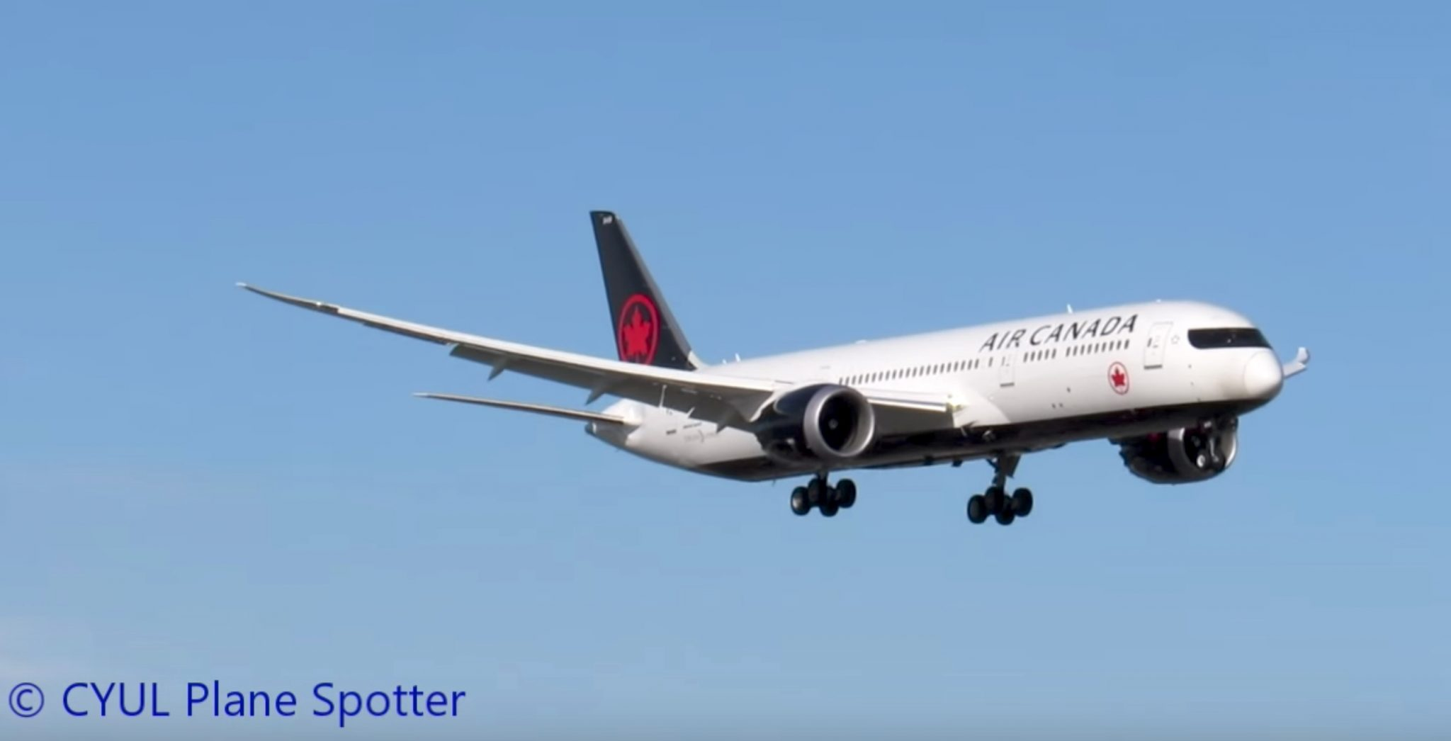 Air Canada's New Livery Looks Sexy on 787-9 Dreamliner — Avgeekery