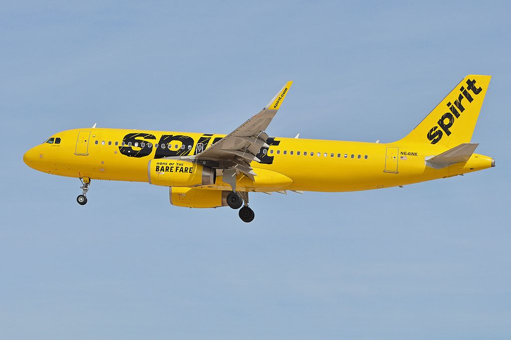 Naked Spirit Airlines passenger delays flight in Las Vegas, officials say