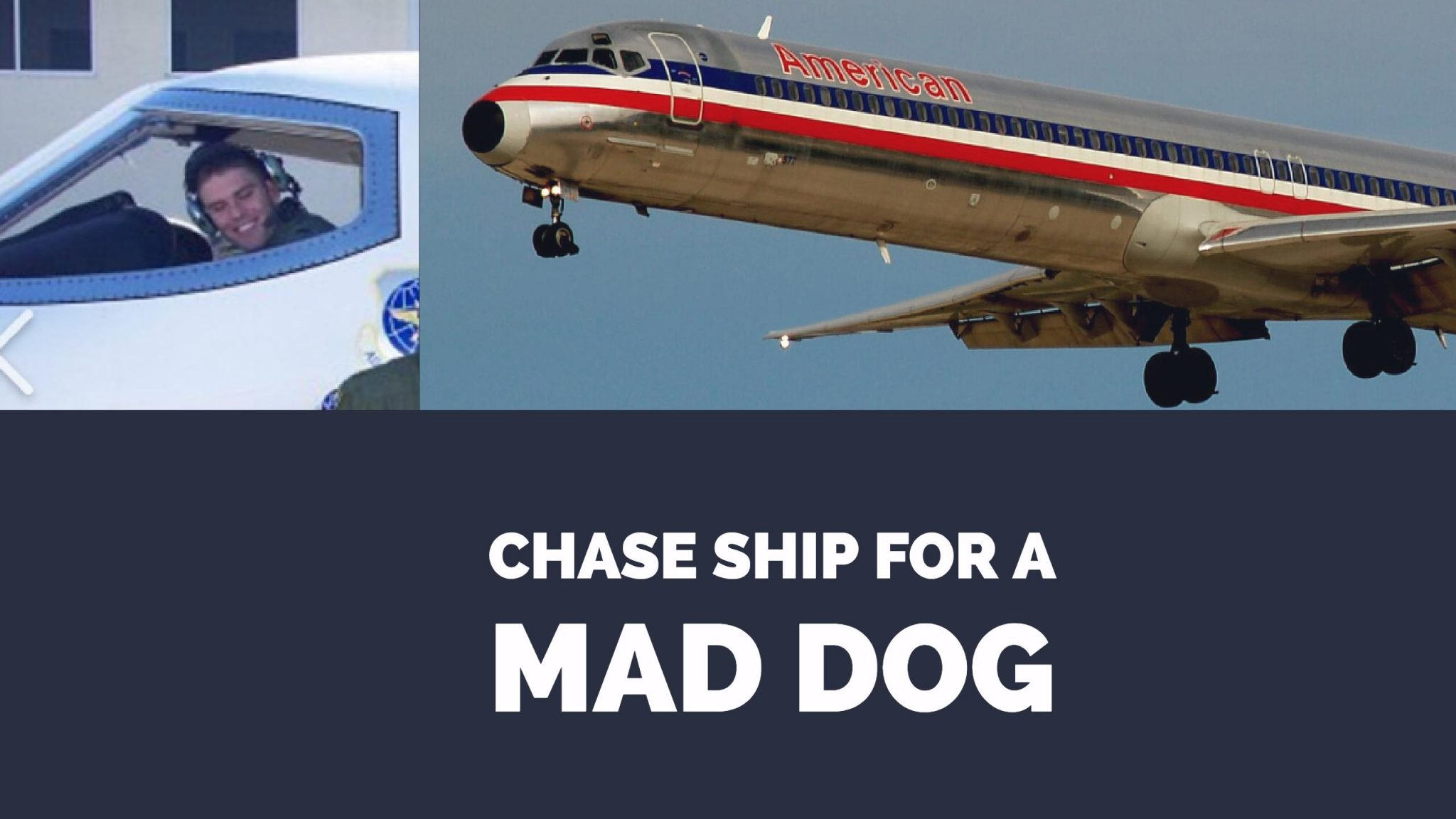 I Was A Chase Ship For An American Airlines MD-80 With A Gear Problem