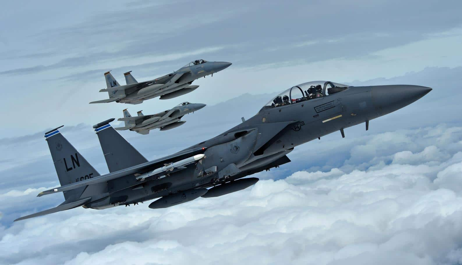 Watch This Award-Winning USAFE F-15 Eagle Squadron Hone