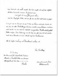 Seite 4 des Briefes von Schumacher an Humboldt, Altona, 10.5.1850. (Quelle: HiN)