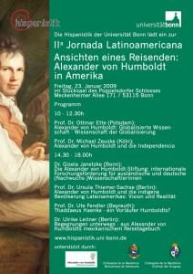 Plakat IIa Jornada Latinoamericana