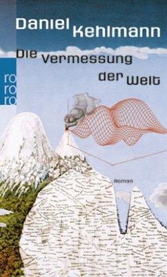 """Cover von """"Die Vermessung der Welt"""" von Daniel Kehlmann (Quelle: Rowohlt Presse)"""