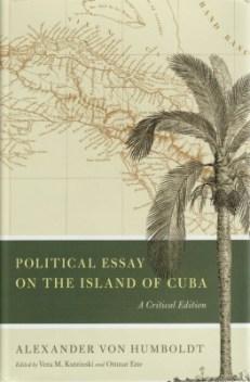 Political Essay on the Island of Cuba, Kutzinski, Ette