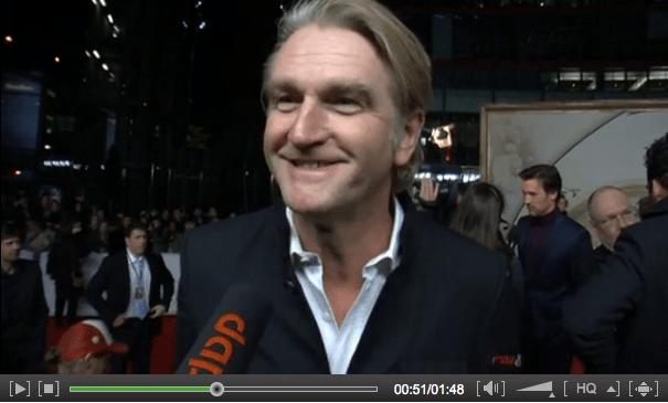 Detlev Buck und Daniel Kehlmann sprechen mit der dapd über ihre Zusammenarbeit (Screenshot: dapd)