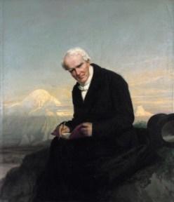 """Ausschnitt aus Julius Schrader (1859), """"Alexander von Humboldt"""""""" (Quelle: Wikimedia Commons)"""