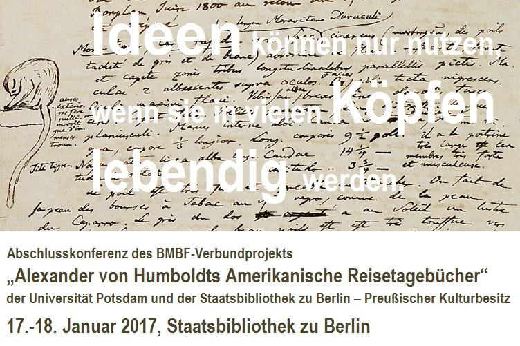 """17.-18.01.2017, Tagung: """"Ideen können nur nützen, wenn sie in vielen Köpfen lebendig werden"""", Berlin"""