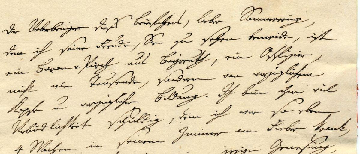 Briefwechsel mit Samuel Thomas von Soemmerring