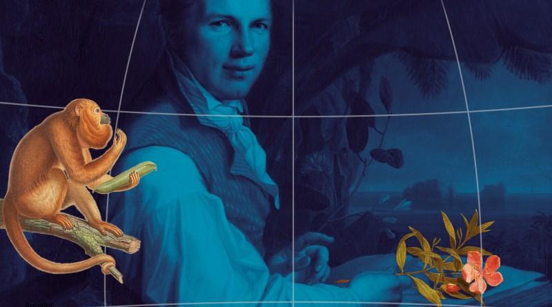 """Ausstellungsmotiv Sonderausstellung """"Humboldt lebt!"""" mit Raster"""