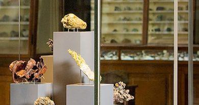 Museum für Naturkunde Berlin, Mineraliensaal