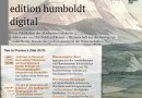 Neue Dokumente und Funktionen in der <i>edition humboldt digital</i> (BBAW): Version 4 online