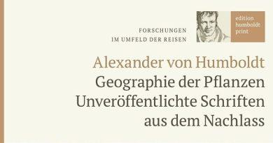 """Unveröffentlichte Schriften aus Humboldts Nachlass in der """"edition humboldt print"""""""