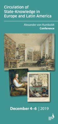 Alexander von Humboldt Conference, Berlin (Program Flyer)