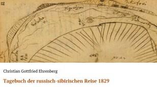 Christian Gottfried Ehrenberg: Tagebuch der russisch-sibirischen Reise 1829
