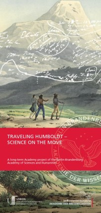 Travelling Humboldt – Science on the Move (Project Flyer)