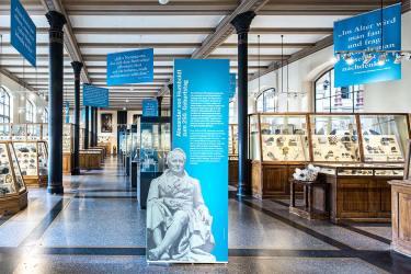 Humboldt-Intervention im Museum für Naturkunde, Berlin