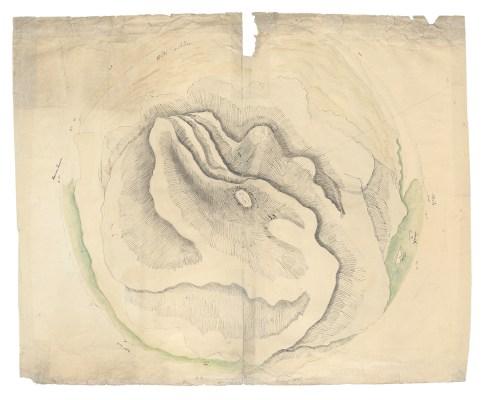 Chr. G. Ehrenberg: Sinaigebirge (1823)
