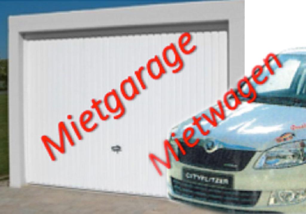 Mietgaragen & Mietwagen