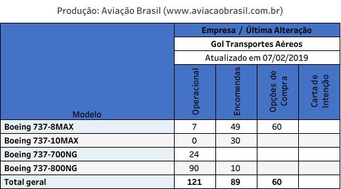 Gol, Gol Transportes Aéreos (Brasil), Portal Aviação Brasil