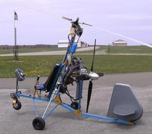 Autogiro Hornet, otra variante del Gyrobee, a la cual se le incorporaron numerosas modificaciones y mejoras al diseño.