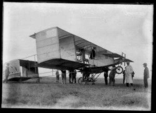 Avión Voisin de Harry Houdini