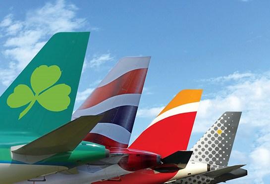 Iberia la que más crece. British Airways la que mas pasajeros transporta.