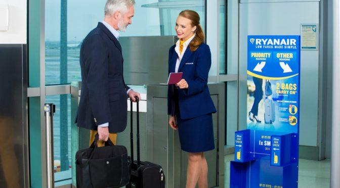 Nueva política de equipajes de Ryanair