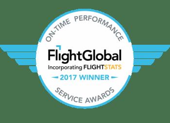 Iberia la aerolínea de red más puntual del mundo en 2017.