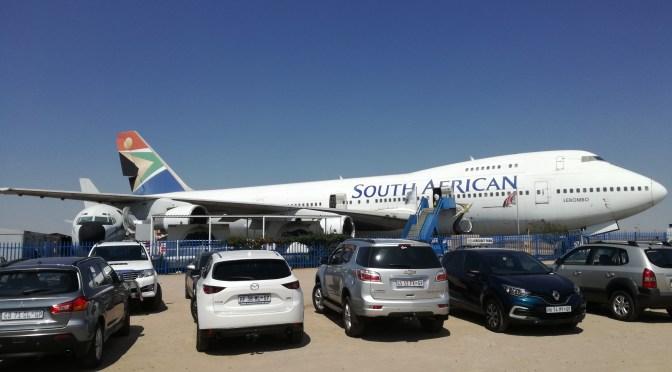Visita al museo de South African Airways en Johannesburgo.