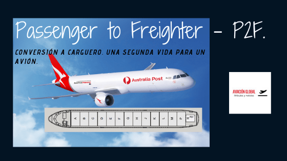 Passenger to Freighter – P2F.