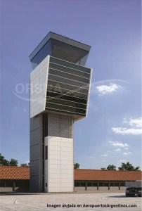 Así quedará la nueva torre de control del aeropuerto de Pto. Iguazú