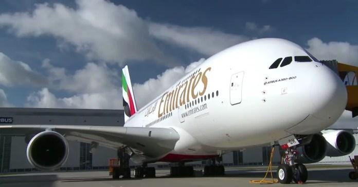 Emirates A380 60